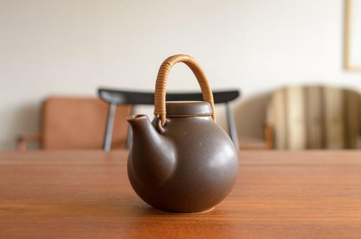 Arabia アラビア GA-1 Tea pot Brown ティーポット/Ulla Procope ウラ・プロコペイメージ4