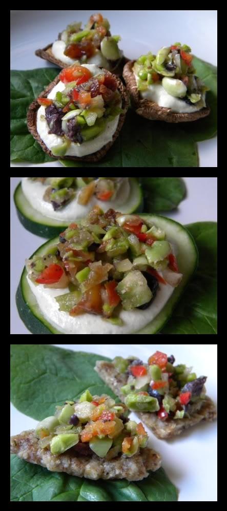 ... Weekly Veggie: Savory Fava Bean 'Crostini' with Garlic 'Creme...