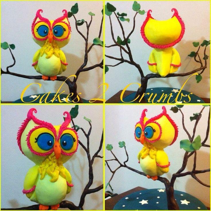 Owl 3D cake