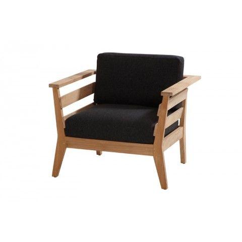 4 Seasons Outdoor Polo Teak lounge stoel