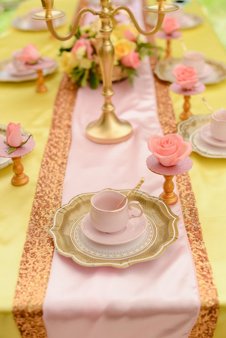 Beauty and the Beast Party by Sweetly Chic Events
