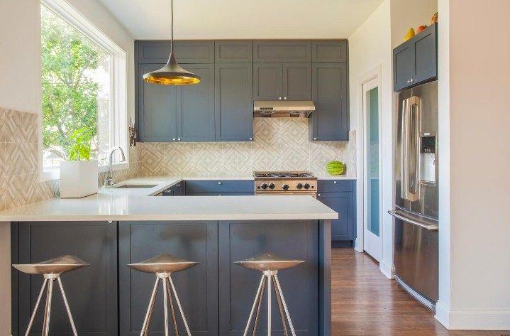 Galley Kitchen Designs With Breakfast Bar Galley Kitchen Designs