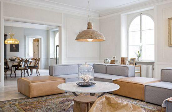 Sofas - BoConcept Grey Fabric Carmo Sofa   Sofa Sofa