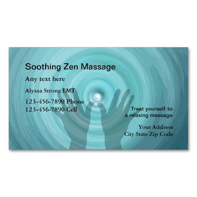 2049 best massage business cards images on pinterest massage