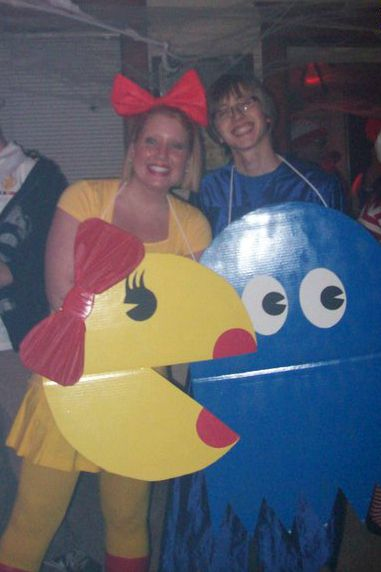 DIY Pac-Man Costume.