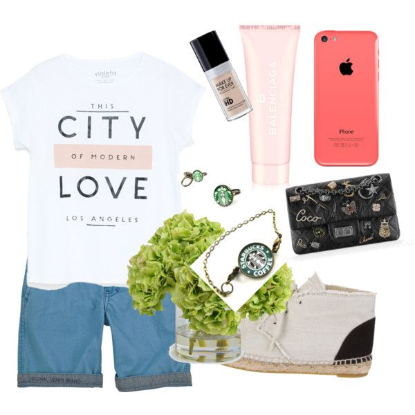 Im crazy now. Sorry ;) #justjoking by hanifahcandra on Polyvore featuring polyvore fashion style MANGO Chanel Balenciaga New Growth Designs Pepe Jeans London