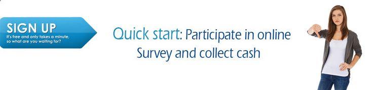 Make an online survey, Market research, get paid for online survey, Get cash for online survey and voting demographic data