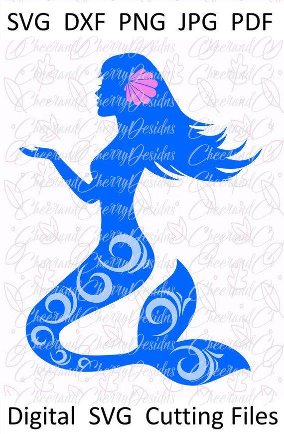 Mermaid Svg Mermaid Clipart Mermaid Dxf Mermaid Party Svg Etsy Mermaid Svg Mermaid Clipart Mermaid Silhouette