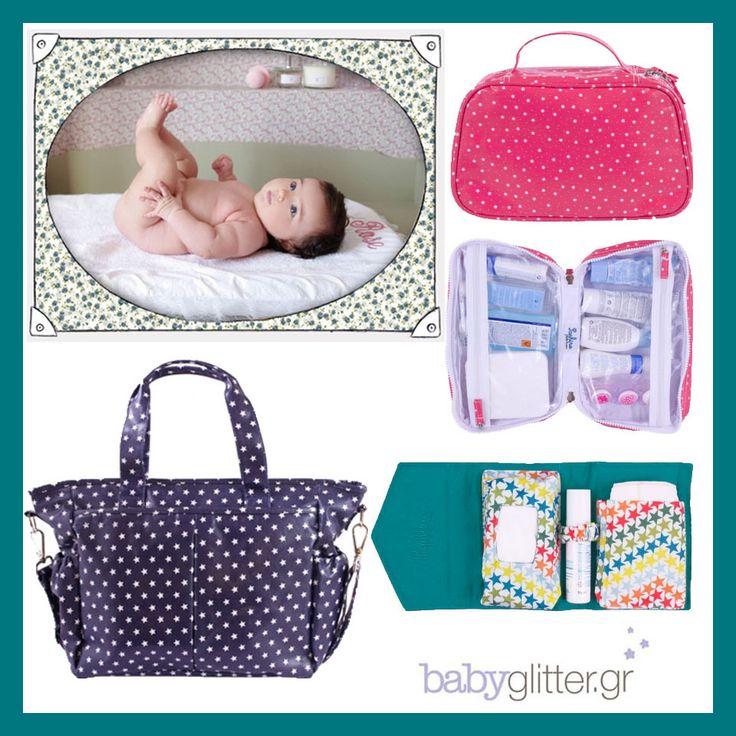 Τσάντες, τσαντάκια αλλαγής και νεσεσέρ από την Saphire Bebe Couture. Τα απαραίτητα αξεσουάρ για κάθε βόλτα με το μωρό μας! babyglitter.gr http://babyglitter.gr/brands/saphire-bebe-couture/