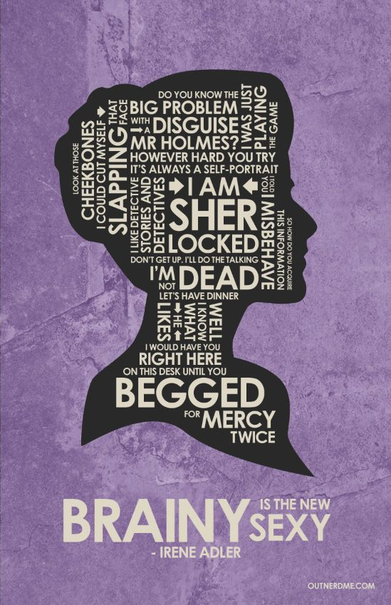Sherlock (2010–) ~ TV Series Quote Poster by Stephen Poon #amusementphile