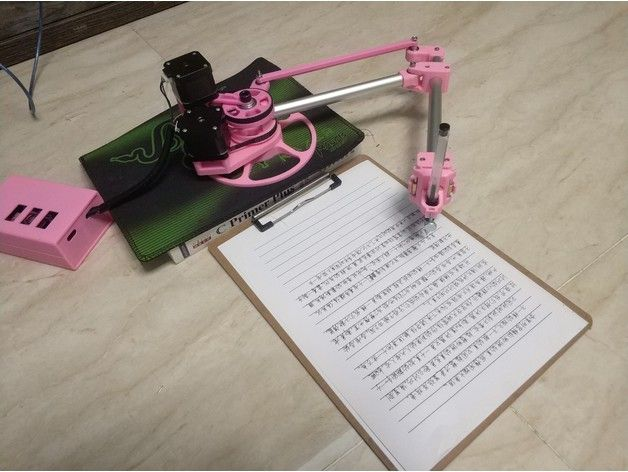 Drawbot By Mg Dream Technology Thingiverse Robotics Projects