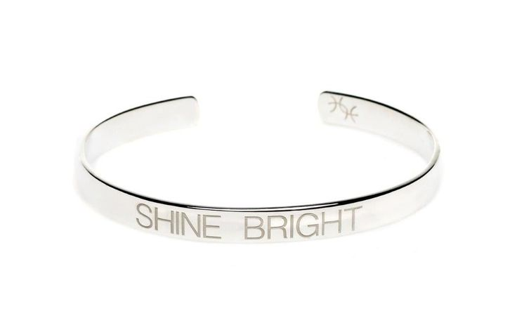 Power Quote SHINE BRIGHT Bracelet - HeidisHoff.no