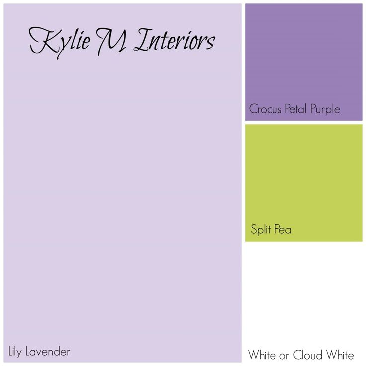 Best 25 lavender girls rooms ideas on pinterest - Lavender paint color schemes ...