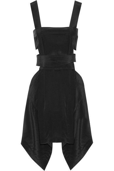 25  best ideas about Black silk dress on Pinterest | Paris look ...