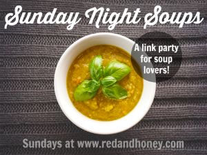 Sunday Night Soups - Launch Week (And a $25 Amazon Gift Card Giveaway!) - Red and Honey