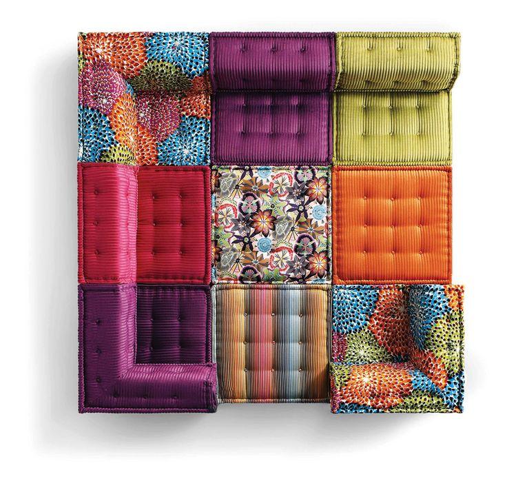 the mah jong by hans hopfer for roche bobois design. Black Bedroom Furniture Sets. Home Design Ideas