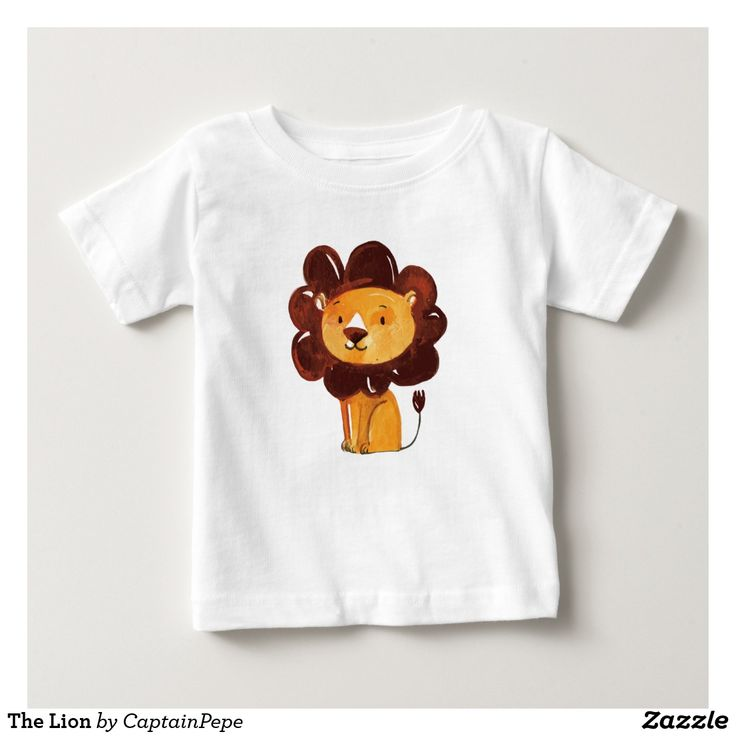 The Lion Baby Fine Jersey T-Shirt Your search for the ultimate basic infant T-shirt is officially over. This cotton tee is soft enough for even the most sensitive skin. Dress it down with jeans or up with khakis. No matter how your little guy or gal wears it, it's guaranteed to be in style.  Size & Fit Standard fit Fits true to size#finlemarin #babytshirt #lion #babyfashion #kidtshirt #kidsapparel #babyapparel