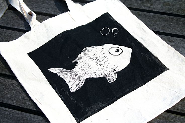 There is plenty of fish in the sea, but none like this screen printed one.