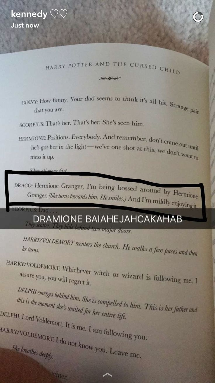 """Not to mention that Draco's son, Scorpius, is smart like Hermione and Ron just goes: """"BLOODY HELL THERE'S TWO OF YOU?"""""""