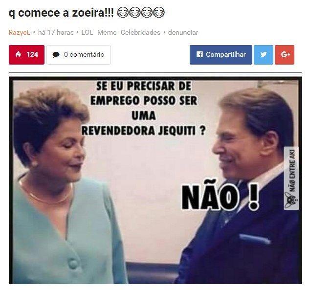 Os melhores memes sobre a votação de impeachment da Dilma