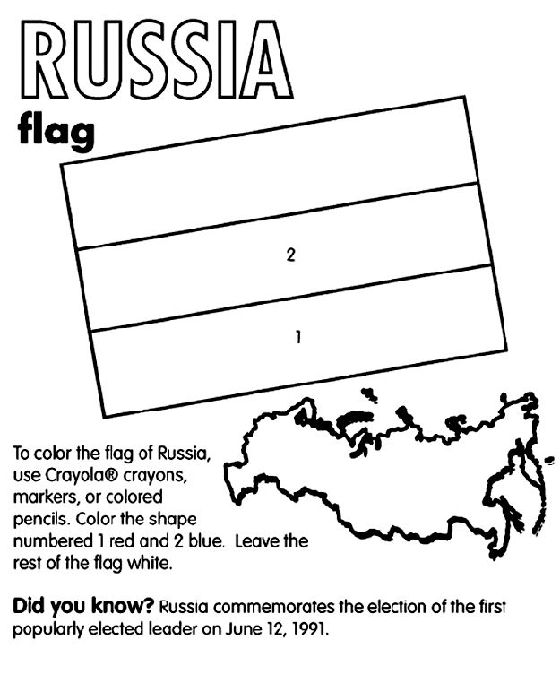 Flag Coloring Pages Crayola Crayons