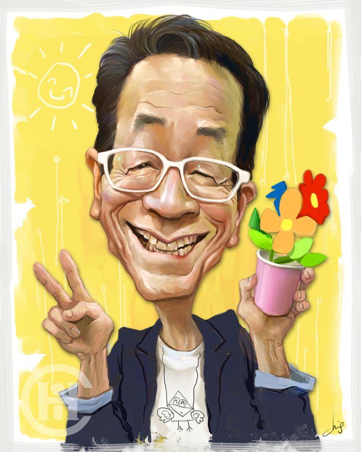 김영만 아저씨 캐리커쳐 ㅋㅋ  한동안 잊고 살았던걸 기억하게 해준 너무 고마운 아저씨 선생님.. 선생님은 제 인생의 첫 선생님이었어요 ㅠㅠ