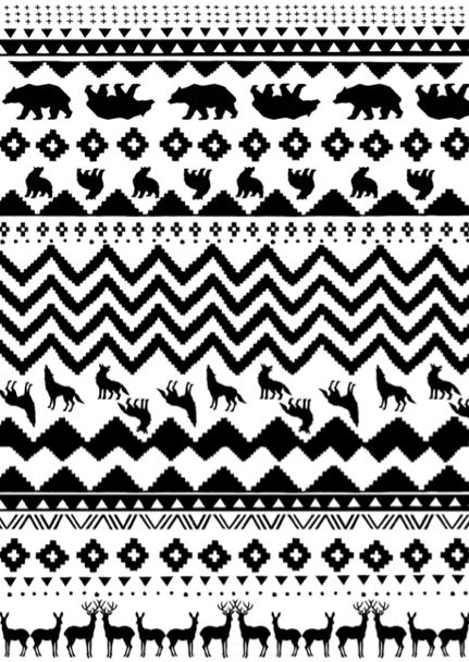 cool native american pattern