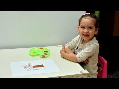 Learn Colors and Seasons Painting Fun Sorting Montessori activities kids play teaching methods