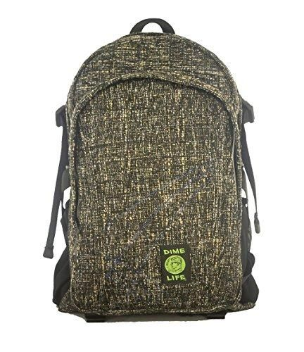 Dime Bags Secret Pocket with Smell Proof and Spill Proof Pouch Urban Backpack