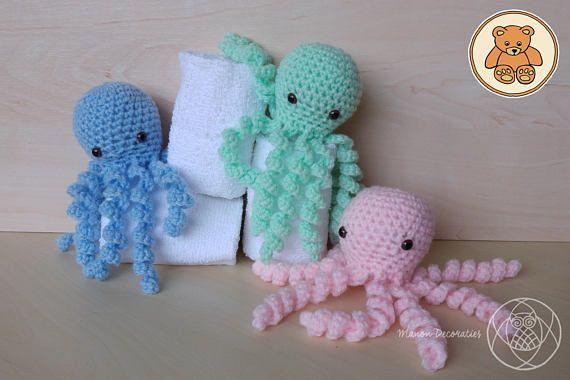 Bekijk dit items in mijn Etsy shop https://www.etsy.com/nl/listing/530758701/gehaakte-octopus
