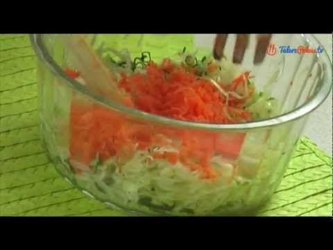 Surówka z białej kapusty - TalerzPokus.tv - YouTube