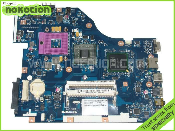 Laptop Motherboard for ACER 5336 series MBR4G02001 PEW72 LA-6631P Mainboard INTEL GL40 GMA 4500M DDR3 Mother Board