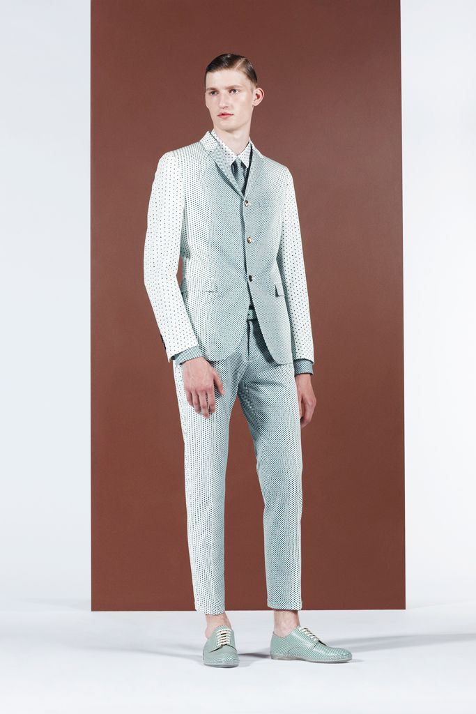 Fendi Spring 2013 Menswear Collection Slideshow on Style.com