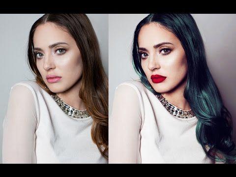 Professional Portrait Edit & Retouch - Photoshop Tutorial - YouTube
