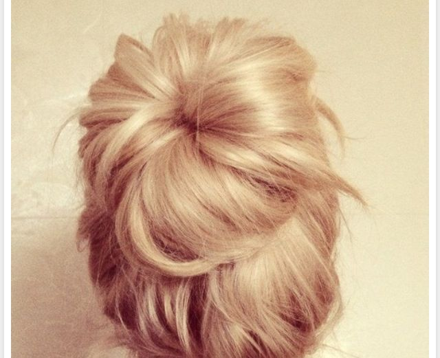 How do you guys get your hair to be a cute messy bun? I need help!!