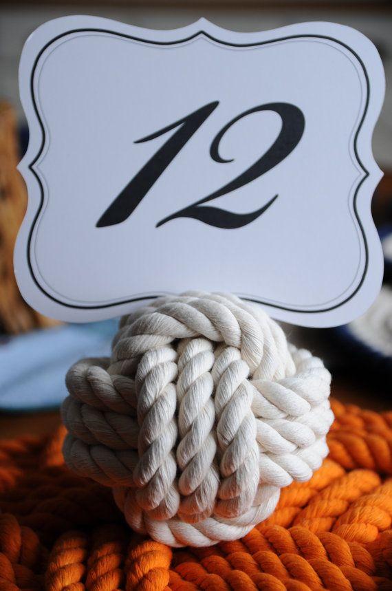 12 náutica boda nudos  tabla número titular de cuerda