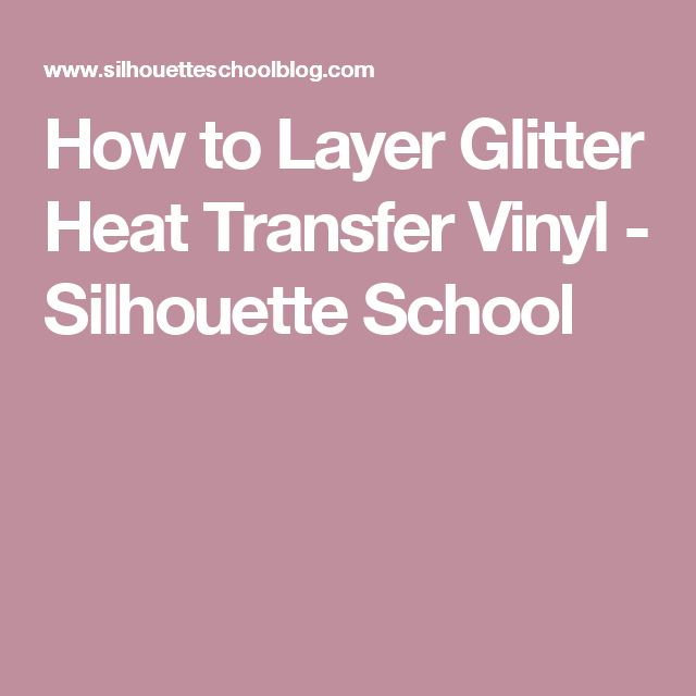 how to cut heat transfer vinyl on silhouette cameo