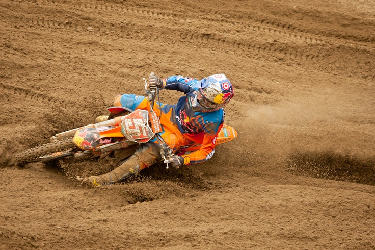 Southwick MX 1012: Practice Report | Features, Motocross, News, Photos | Transworld Motocross. Dungey totally pinned on a 450 in the sands of Southwick