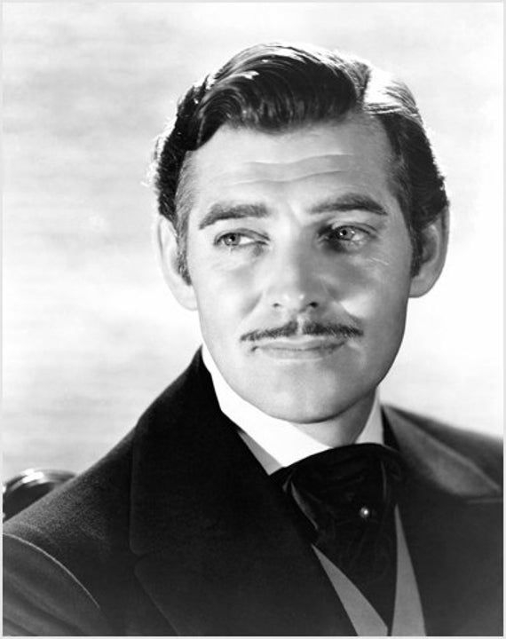 clark GABLE GONE with the WIND movie still poster COLLECTIBLE UNIQUE 24X36