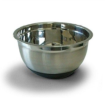 Kitchen Utensils & Cooking Prep - Briscoes - Prestige Bowl 5L - Stainless Steel with Rubber Base