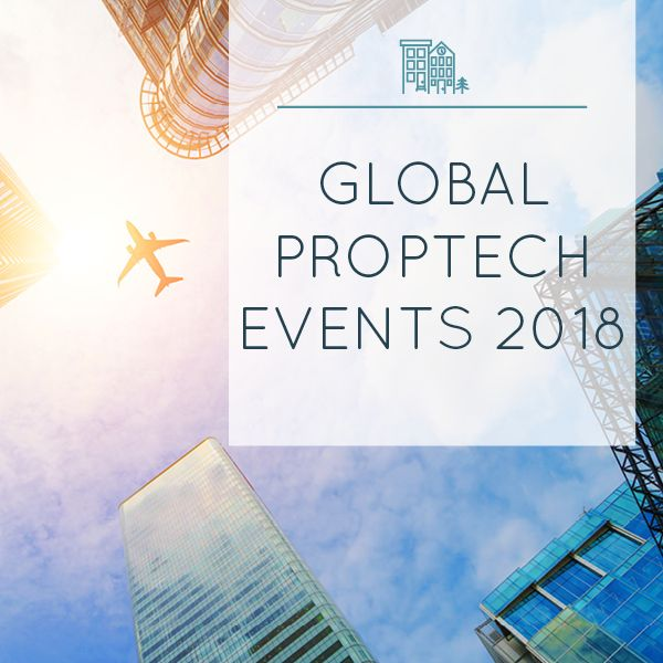 Every PropTech event you could ever dream about, all in one place.....