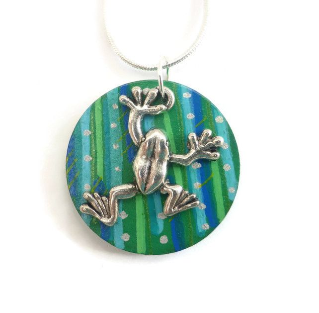 Frog Necklace, Frog Jewellery £12.95