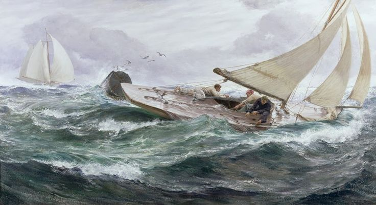 Charles Napier Hemy (1841-1917) was a British painter best known for his marine paintings and his two paintings in the Tate collections. He ...