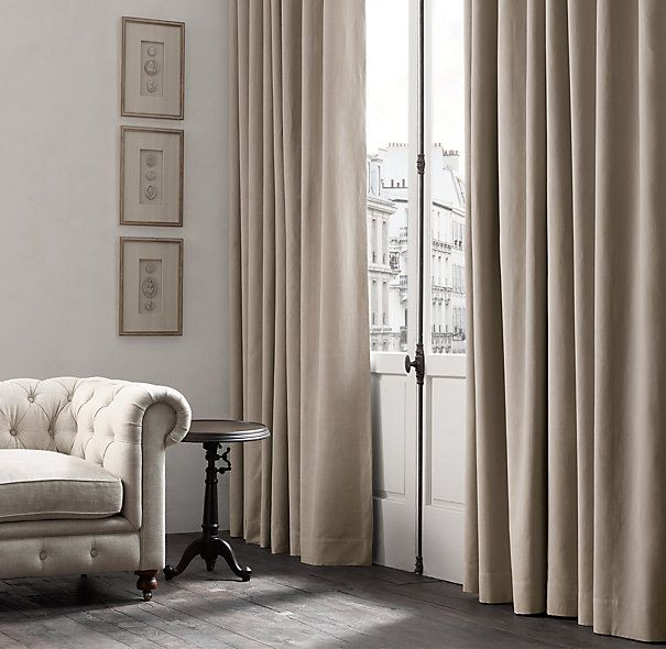 113 best images about bebe nursury on pinterest faux for Restoration hardware silk curtains