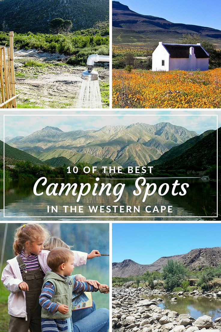 10 Of the Best Camping Spots in the Western Cape of South Africa