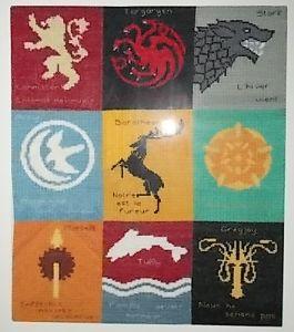 Les familles de Game Of Thrones