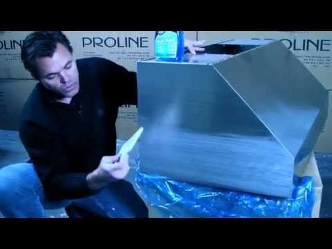 How to Remove Scratches from Stainless Steel - Refinish Stainless Steel - YouTube