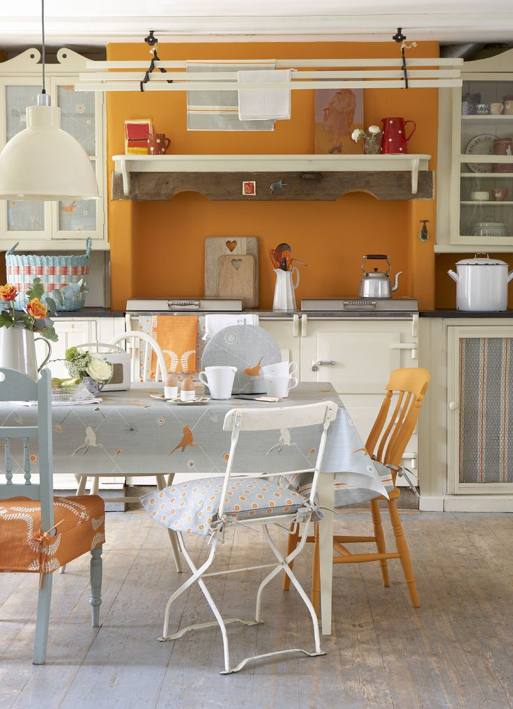 9 best Inspiring Ideas images on Pinterest Orange kitchen, Colors