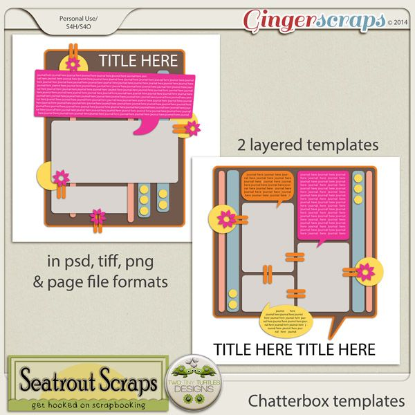 chatterbox templates by seatrout scraps and two tiny turtles