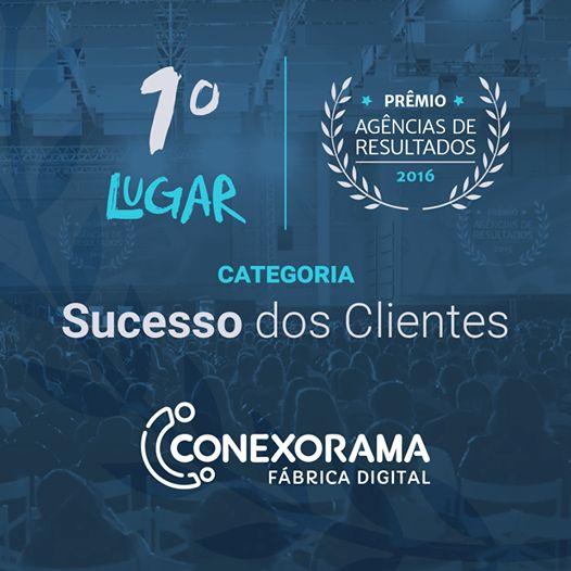 Somos a agência BI-CAMPEÃ no prêmio Sucesso dos Clientes, ganho na última edição do RD Summit -  evento de Marketing e Vendas da Resultados Digitais, que acontece anualmente em Florianópolis - SC. Além disso, ficamos novamente entre as 5 melhores Agências de Inbound Marketing do Brasil! Confira a matéria completa sobre o evento e o prêmio! http://conexorama.com/bi-campea-no-premio-sucesso-dos-clientes/  #Conexorama #RDSummit #ResultadoDigitais #Prêmio #InboundMarketing #Marketing